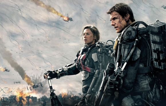 Emily Blunt et Tom Cruise renaissent dans Edge of Tomorrow.